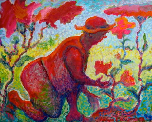 Image result for gardener painting
